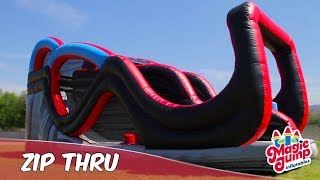 Zip Thru - Inflatable Obstacle Course | Magic Jump, Inc.