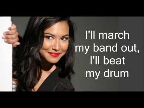 Glee - Don't Rain On My Parade SEASON FIVE (Lyrics) HD