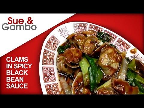 Stir Fry Clams In Spicy Black Bean Sauce