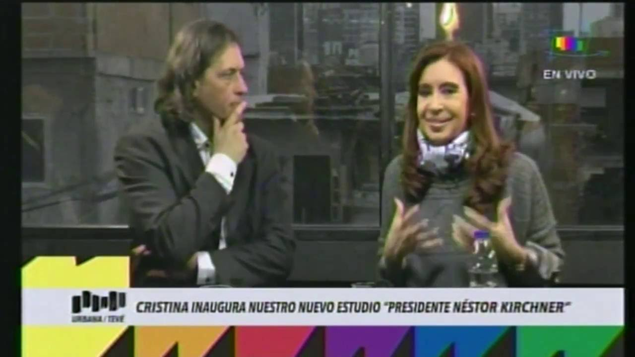 Cristina Kirchner en la Villa 31 en Urbana TV - YouTube - photo#41