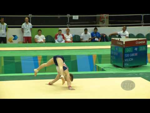 WILSON Nile (GBR) - 2016 Olympic Test Event, Rio (BRA) - Qualifications Floor Exercise