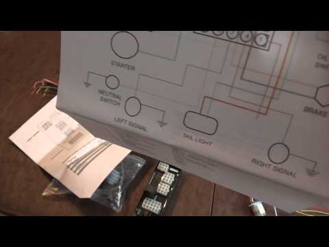Complete wiring harness from Ultima #18-530 - YouTube on ultima electronic wiring system, ultima harness 18 530, ultima motor wiring diagram,