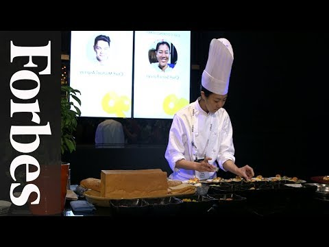 A Feast For The Senses at Forbes 30 Under 30 Asia Summit