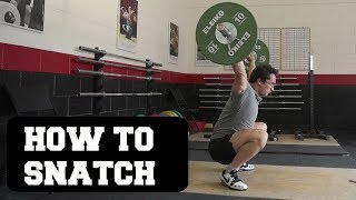 OLYMPIC WEIGHTLIFTING 101: How To Snatch (Full Guide) Ft. Clarence Kennedy