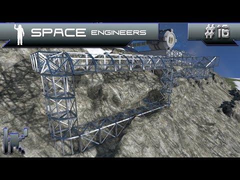 Let's Play Space Engineers - Episode 16: Designing An Underground Hangar!
