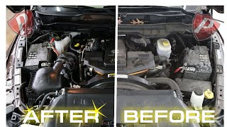 Best Way to Clean an Engine Bay with a Garden Hose