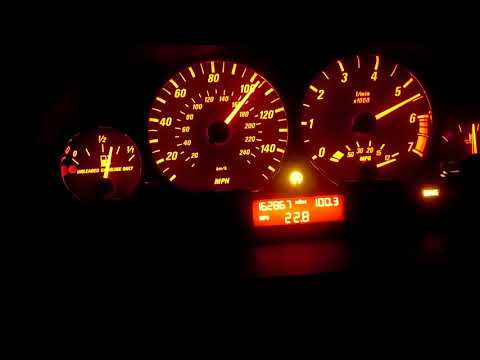 BMW E46 325i 325ci acceleration 0-60 0-125 0-100 0-200