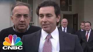 Mark Fields: Encouraged After Speaking With President Donald Trump | CNBC