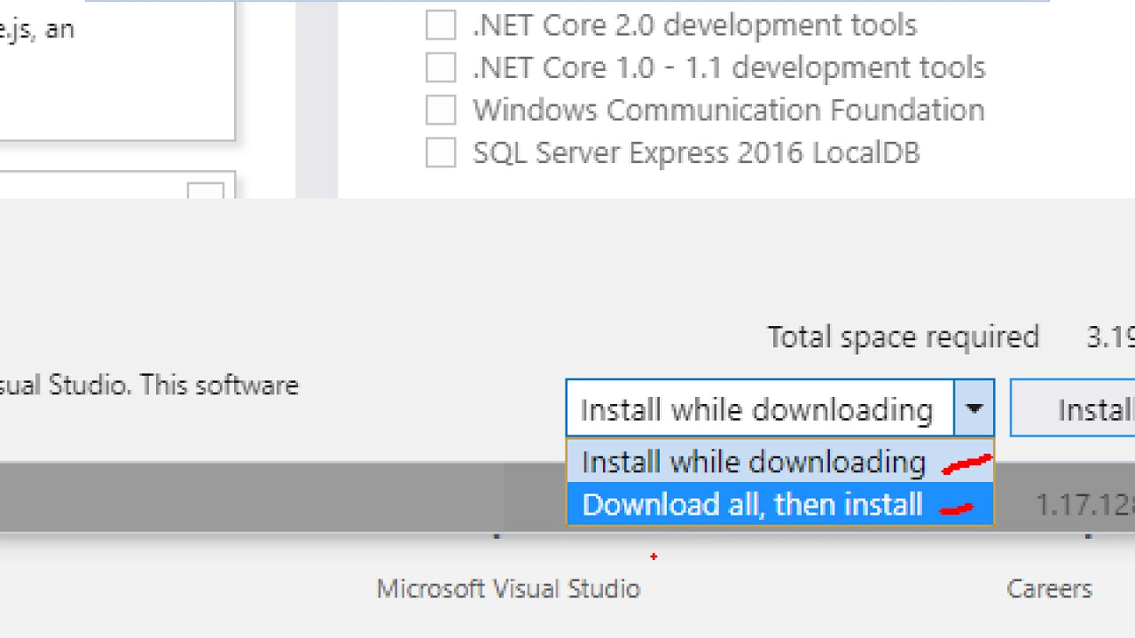 How to Install Visual Studio Community 2017 for Windows Forms Application