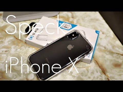 super popular 540c3 05962 Speck Presidio CLEAR Case - iPhone X / XS - Hands On Review