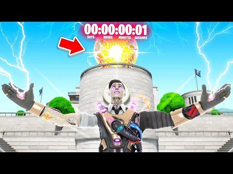 The End Of Fortnite Season 2! Live Doomsday Event Fortnite Season 3 Giveaway