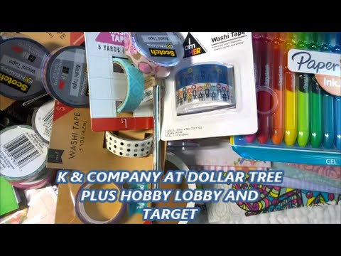 K & Company at Dollar Tree!  Plus Hobby Lobby and Target Dollar Spot Haul!