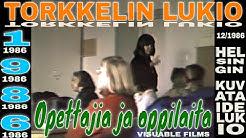❤ Urmas Viilunk opettajana. Helsingin kuvataidelukio ||  Theme: Uuno Kailas Talo |  Abivideo 1986 ❤