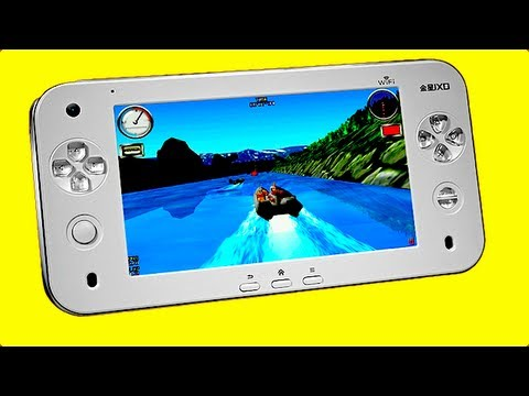 FAKE Wii U? Nope, ANDROID GAMING TABLET – Review JXD S7100