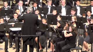 2015 San Bernardino County High School Honor Band -   OCTOBER by Eric Whitacre