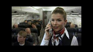 Kopfhörer im Flugzeug