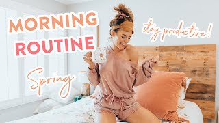 My HEALTHY Morning Routine Spring 2020 | How I Stay Productive