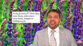 సిలువ  నుండి  జీవిత  పాఠాలు:   డాక్టర్  పాల్  కట్టుపల్లి  సందేశం