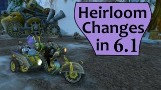 Heirloom Vendors, Interface and Chauffered Chopper in Patch 6.1