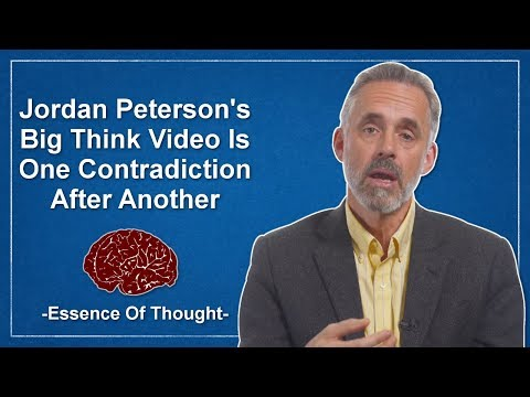 Jordan Peterson's Big Think Failure -  A Critical Response