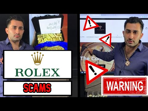 GOLD AND ROLEX SCAMS ! TWO SCAMS TO WATCH OUT FOR ONLINE