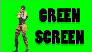 DANCE MOVES GREENSCREEN frei (Standardtanz - Fortnite)