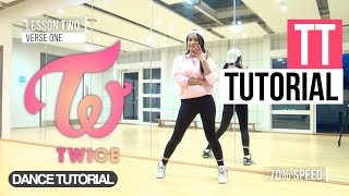 mirrored twice 트와이스 tt 티티   full dance tutorial