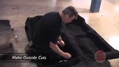 Car carpet Installation video
