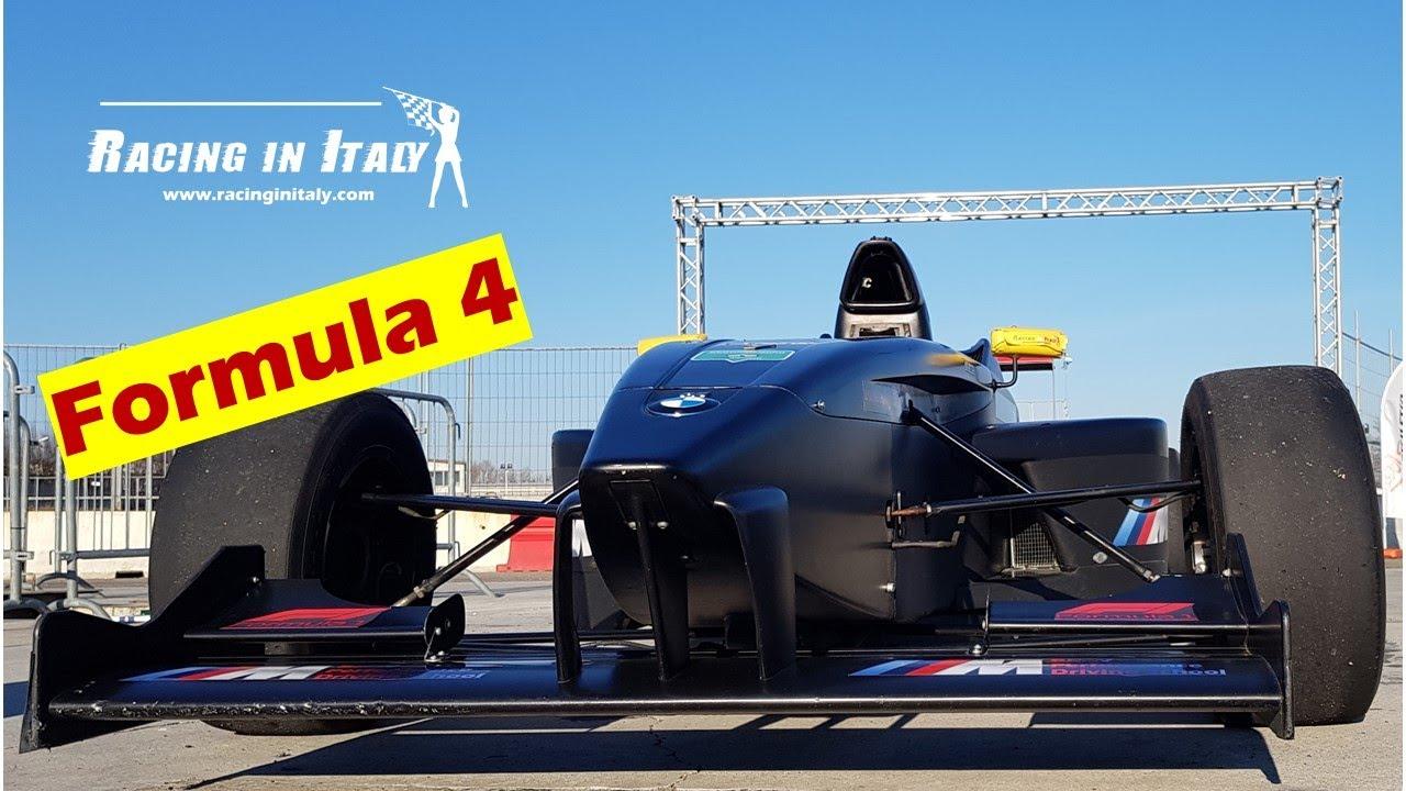 Formula 4 test day. Come guidare la  pista di castelletto di branduzzo