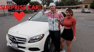 SURPRISING MY GIRLFRIEND WITH HER DREAM CAR!! ** VERY EMOTIONAL **