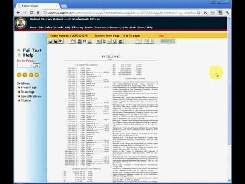 Elias Borges Toronto Patent Lawyer explains the USPTO's Website browser plugin