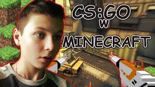 JAK W TO SIE GRA?! CS:GO w Minecraft!
