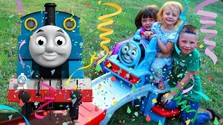 Surprise Step2 Thomas the Tank Engine Up and Down Roller Coaster Toy Trains for Kids Kinder Playtime