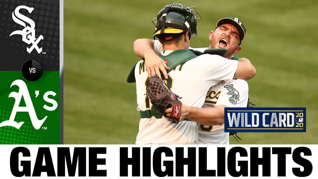A's win 1st playoff series since 2006, head to ALDS | White Sox-A's Game 3 Highlights 10/1/20