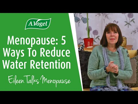 5 ways to reduce water retention during menopause
