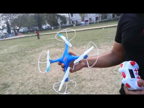 The Cheapest Drone/Quad copter available in India - Wheelociti X10 review