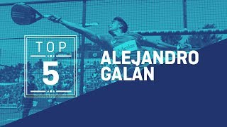 #Top5 Puntazos Ale Galán 2019 - World Padel Tour