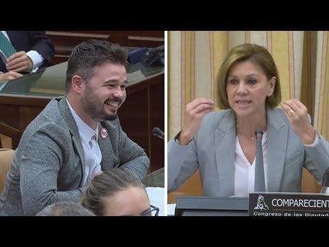 GABRIEL RUFIAN (ERC) saca de quicio a COSPEDAL (PP) en el Congreso (28/05/2018)
