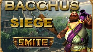 SMITE! Scylla/Bacchus, Sesion doble para que no falte marcha! Siege #45