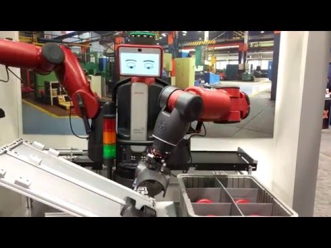 Industry 4.0 Advanced Manufacturing Automation Rethink Robotics