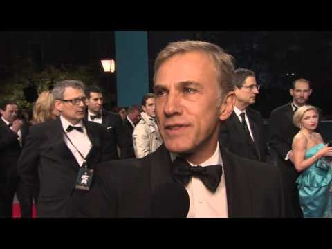 Spectre: Christoph Waltz Red Carpet Premiere Interview At Royal Premiere In London