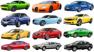 A to G | Brand of Cars Names of Cars Transportation for Kids Street Vehicles Names Cars for kids