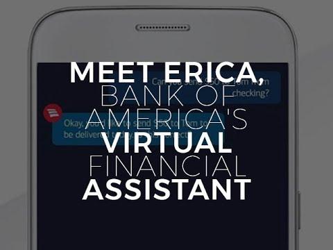 Meet Erica, Bank Of America's Virtual Financial Assistant   ZDNet