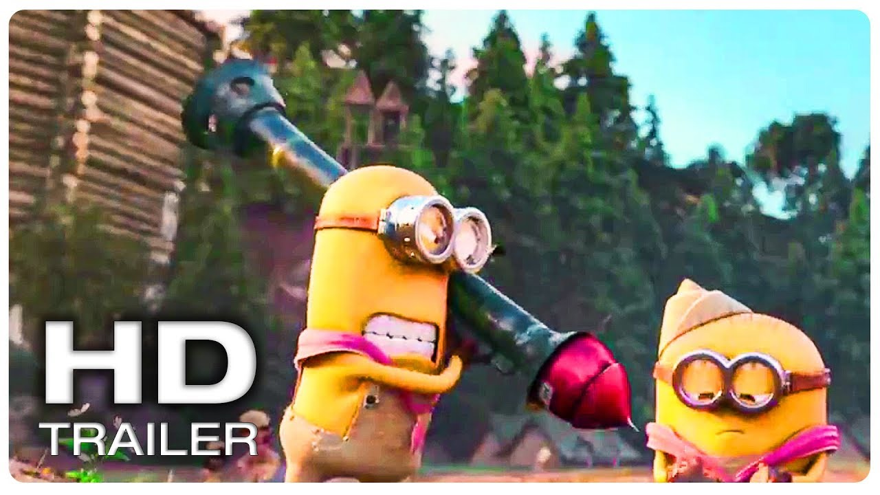 Minions Destroys Dam Scene | MINIONS 2 THE RISE OF GRU (NEW 2020) Movie CLIP HD