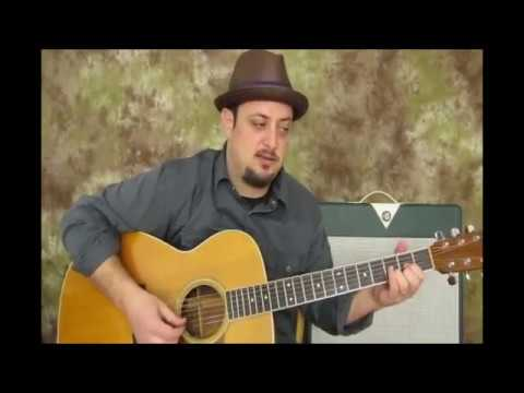 Acoustic Blues Guitar lesson ( The Land of Drop D tuning)
