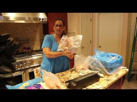 CHICKEN/ANOTHER ZAYCON CHICKEN ORDER/CHERYLS HOME COOKING/EPISODE 586