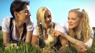 Урок немецкого языка от трех фройляйн