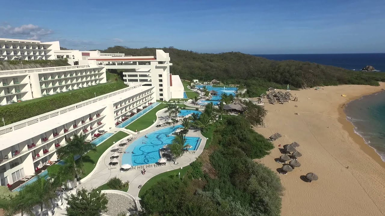 Hotel secrets huatulco youtube for Hotels secrets