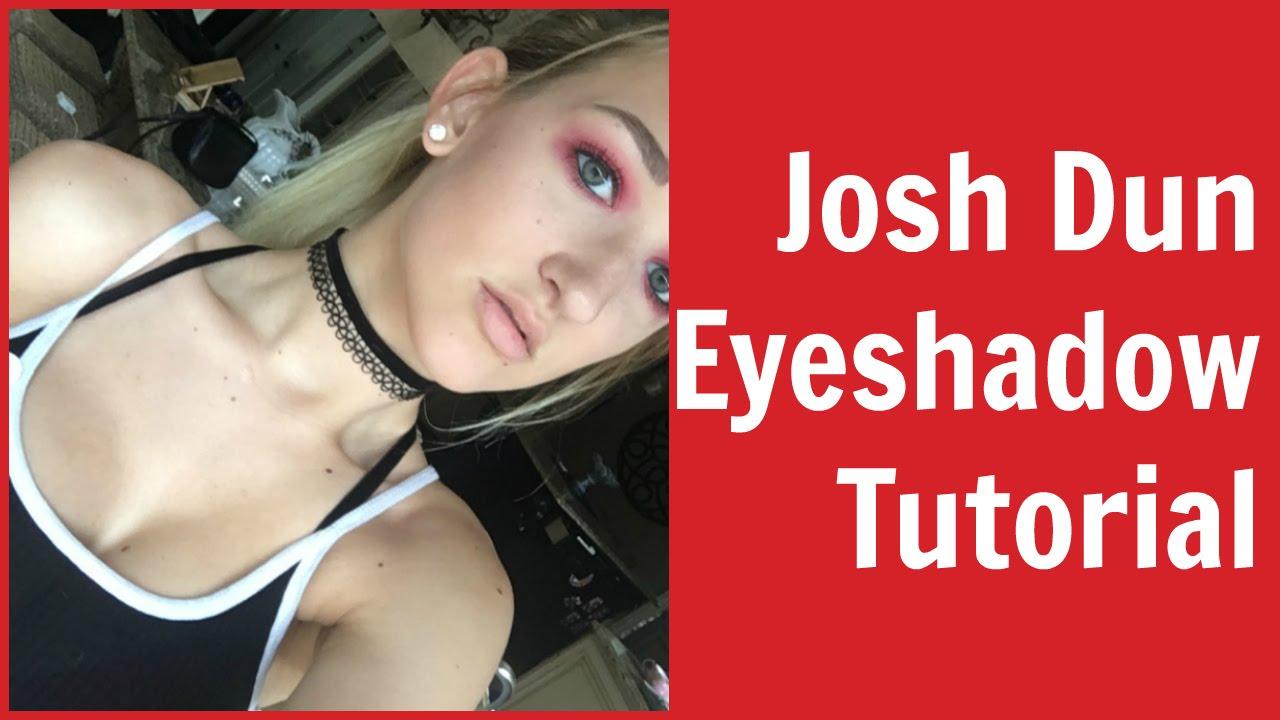 josh dun from twenty one pilots eyeshadow tutorial giveaway