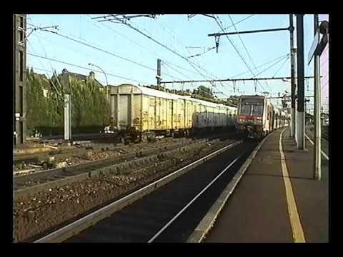 FRET SNCF VILLENEUVE ST GEORGES  14 6 2000 PART 6